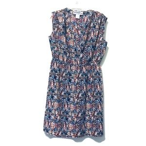 Kardashian Kurves Palm Spring Print Dress 18W